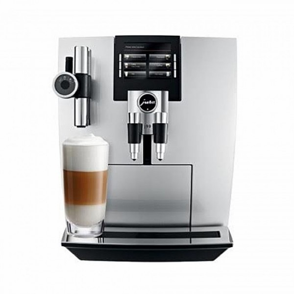 Jura J90 Superautomatic Espresso Machine - Silver